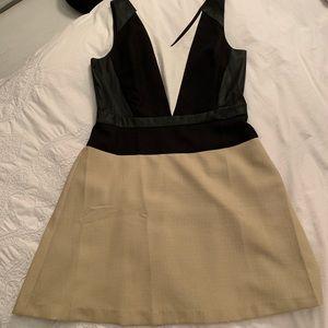 Ann Taylor Color Block Dress